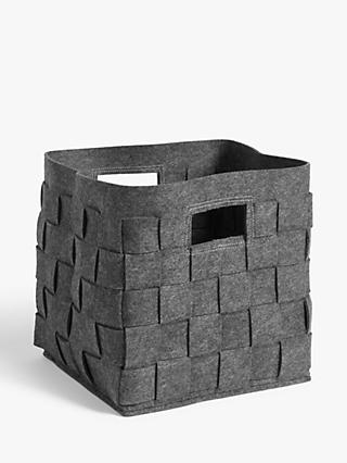 House by John Lewis Felt Woven Box