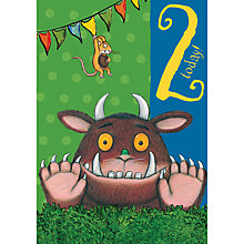 Buy Woodmansterne Gruffalo Jump Out 2nd Birthday Card Online at johnlewis.com