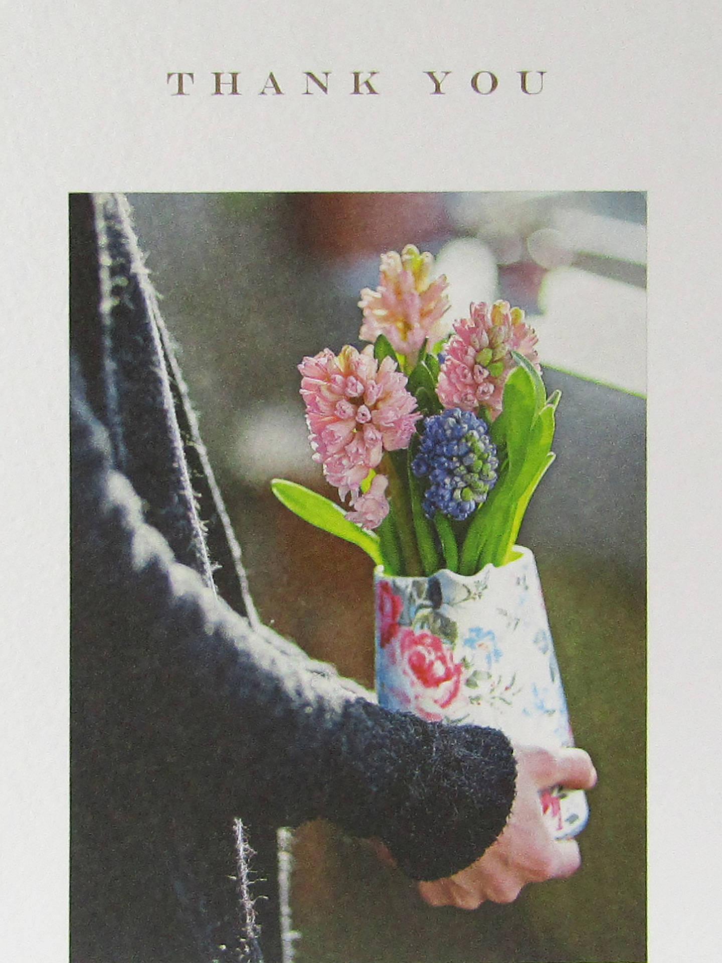 Buy Susan O'Hanlon Hyacinths Thank You Card Online at johnlewis.com