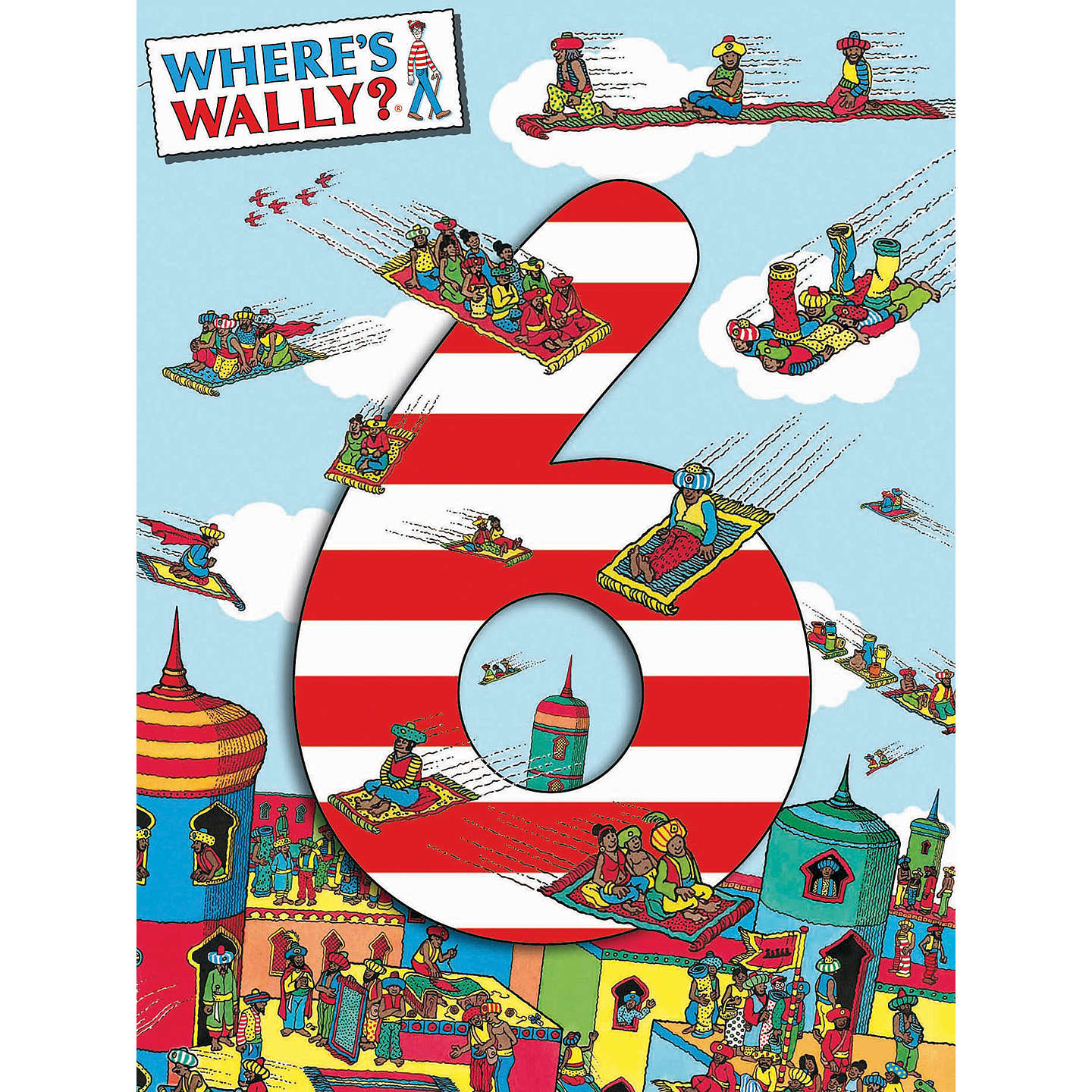 Woodmansterne wheres wally 6th birthday card at john lewis buywoodmansterne wheres wally 6th birthday card online at johnlewis bookmarktalkfo Images