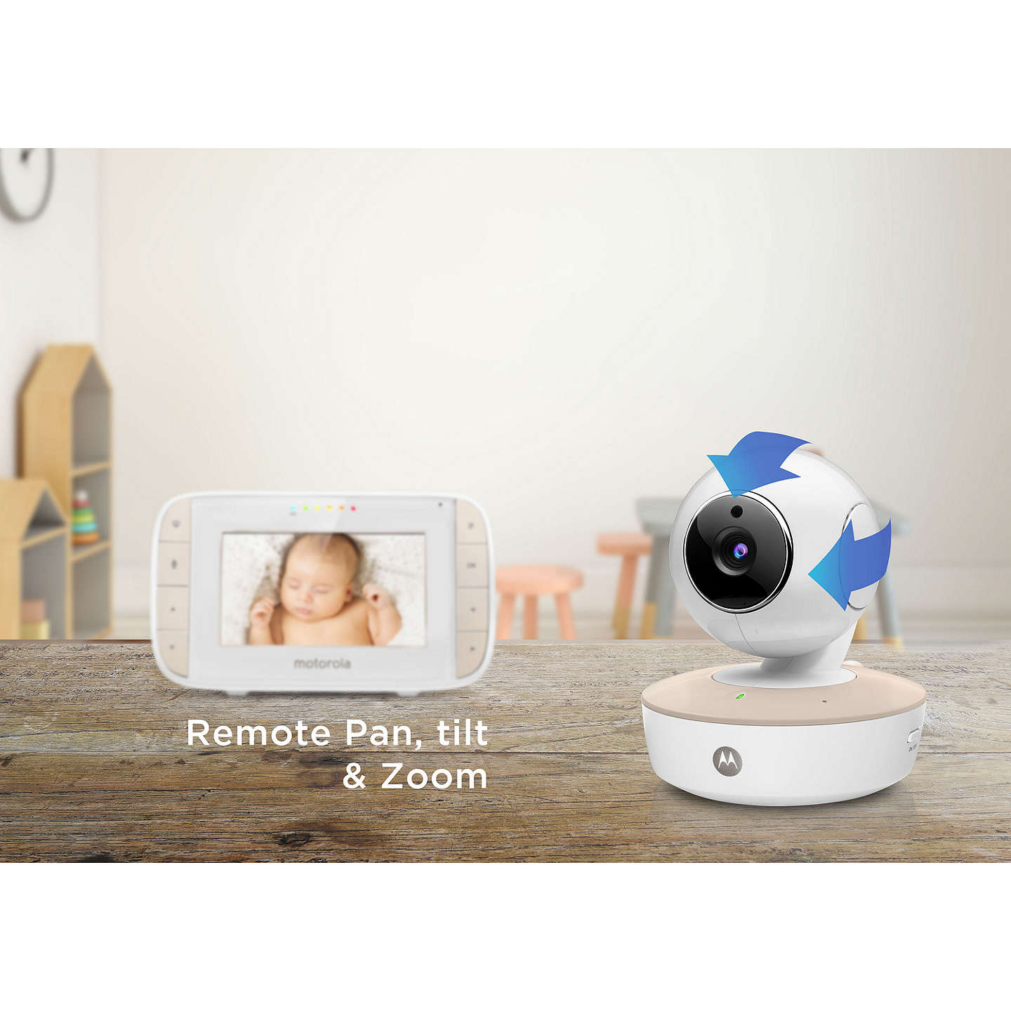 BuyMotorola MBP44 Digital Audio and Video Baby Monitor Online at johnlewis.com