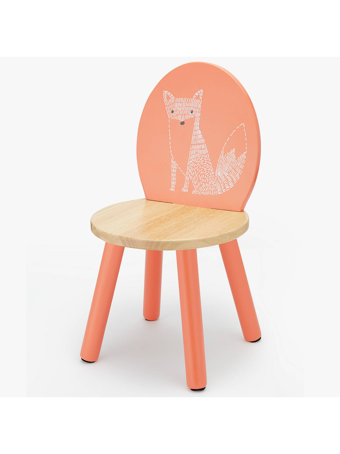 Buy John Lewis & Partners Forest Friends Fox Chair, Orange Online at johnlewis.com