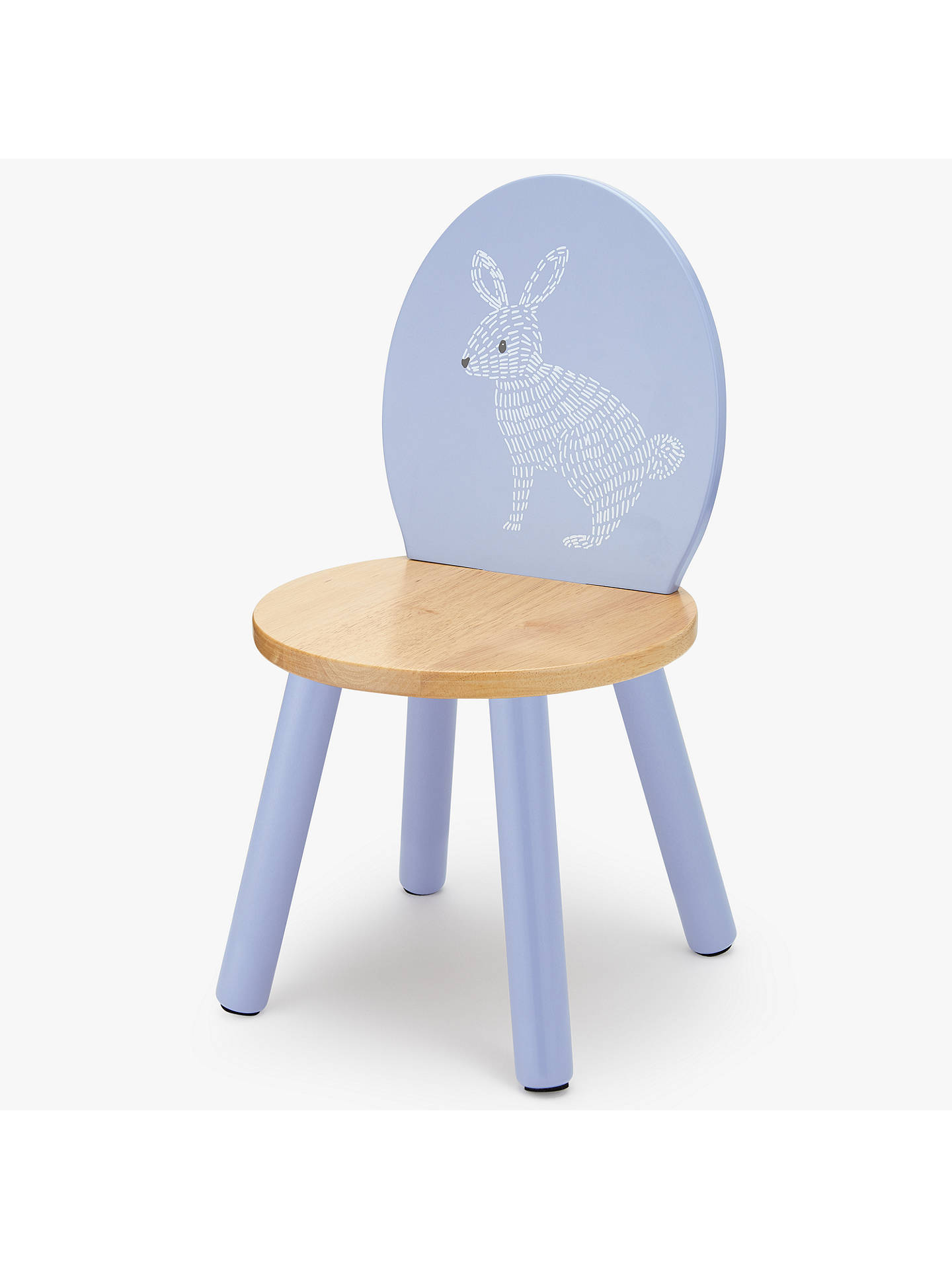 Buy John Lewis & Partners Forest Friends Rabbit Chair, Purple Online at johnlewis.com