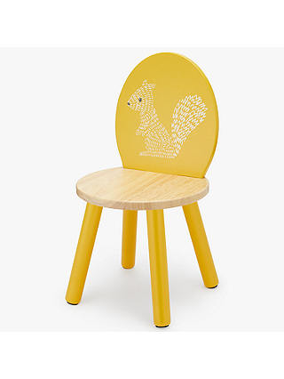 Buy John Lewis & Partners Forest Friends Squirrel Chair, Yellow Online at johnlewis.com