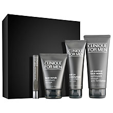 Buy Clinique for Men Custom Fit Oily Skin Set Online at johnlewis.com