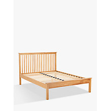 Buy John Lewis Evesham Bed Frame, Double, Oak Online at johnlewis.com