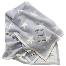 Buy My 1st Years Baby Double Sided Star Knitted Blanket, Multi Online at johnlewis.com