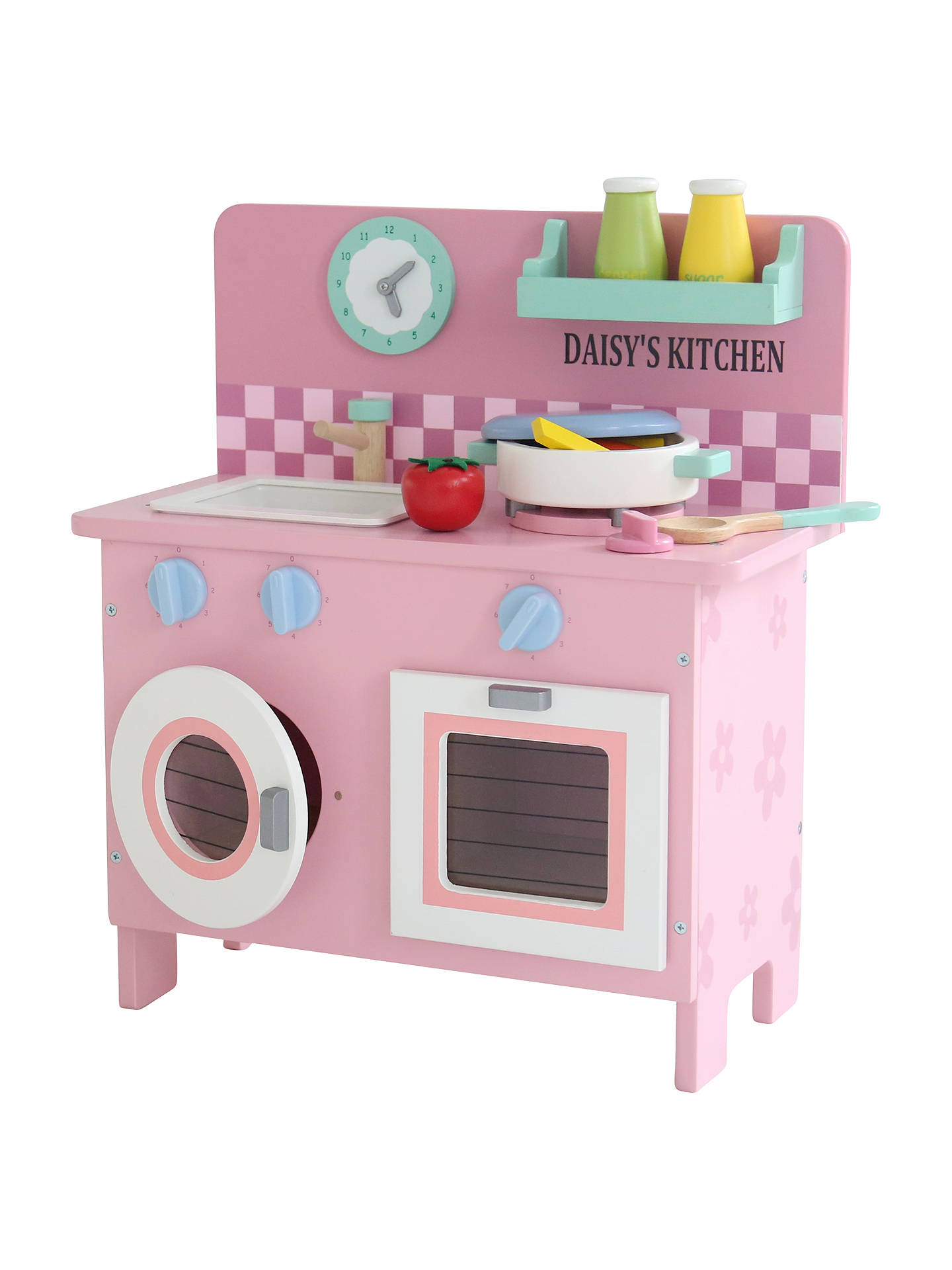 My 1st Years Mini Play Kitchen, Pink at John Lewis & Partners