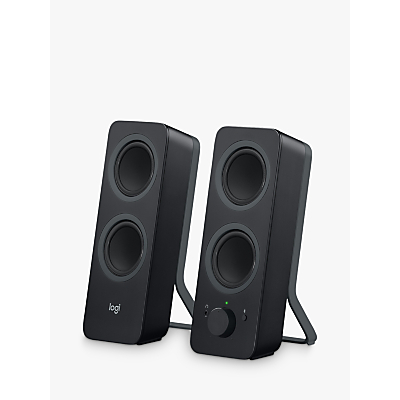 Image of Logitech Z207 Bluetooth Computer Speakers, Black