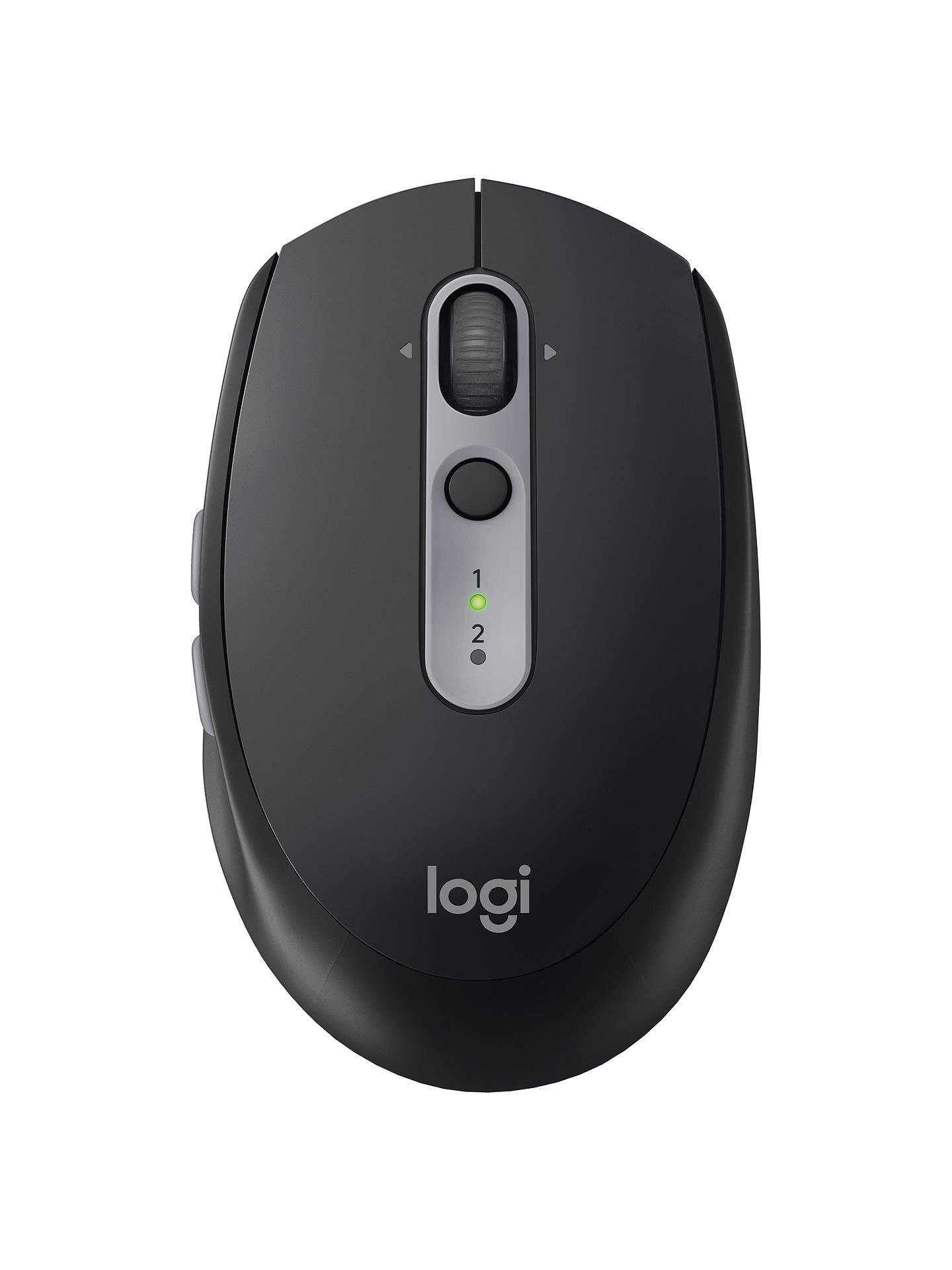 25267160602 Buy Logitech M590 Multi-Device Silent Mouse, Black Online at johnlewis.com  ...