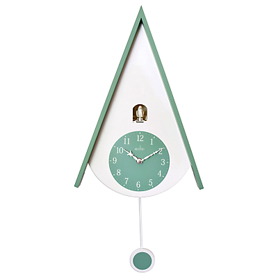 Image of Acctim Isky Cuckoo Wall Clock, Green