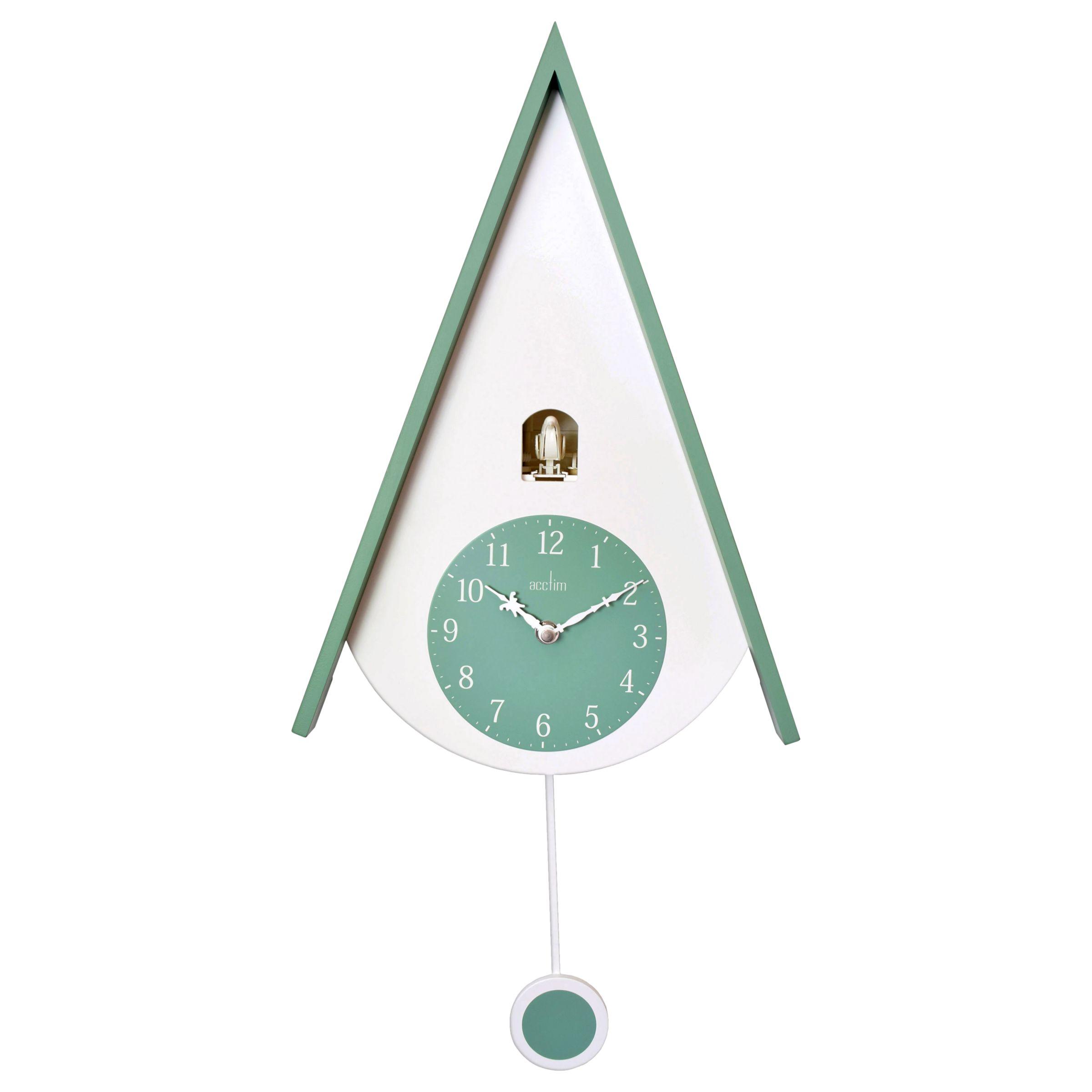Acctim Acctim Isky Cuckoo Wall Clock, Green