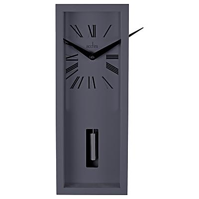 Image of Acctim Ulrik Pendulum Wall Clock, Sky Grey