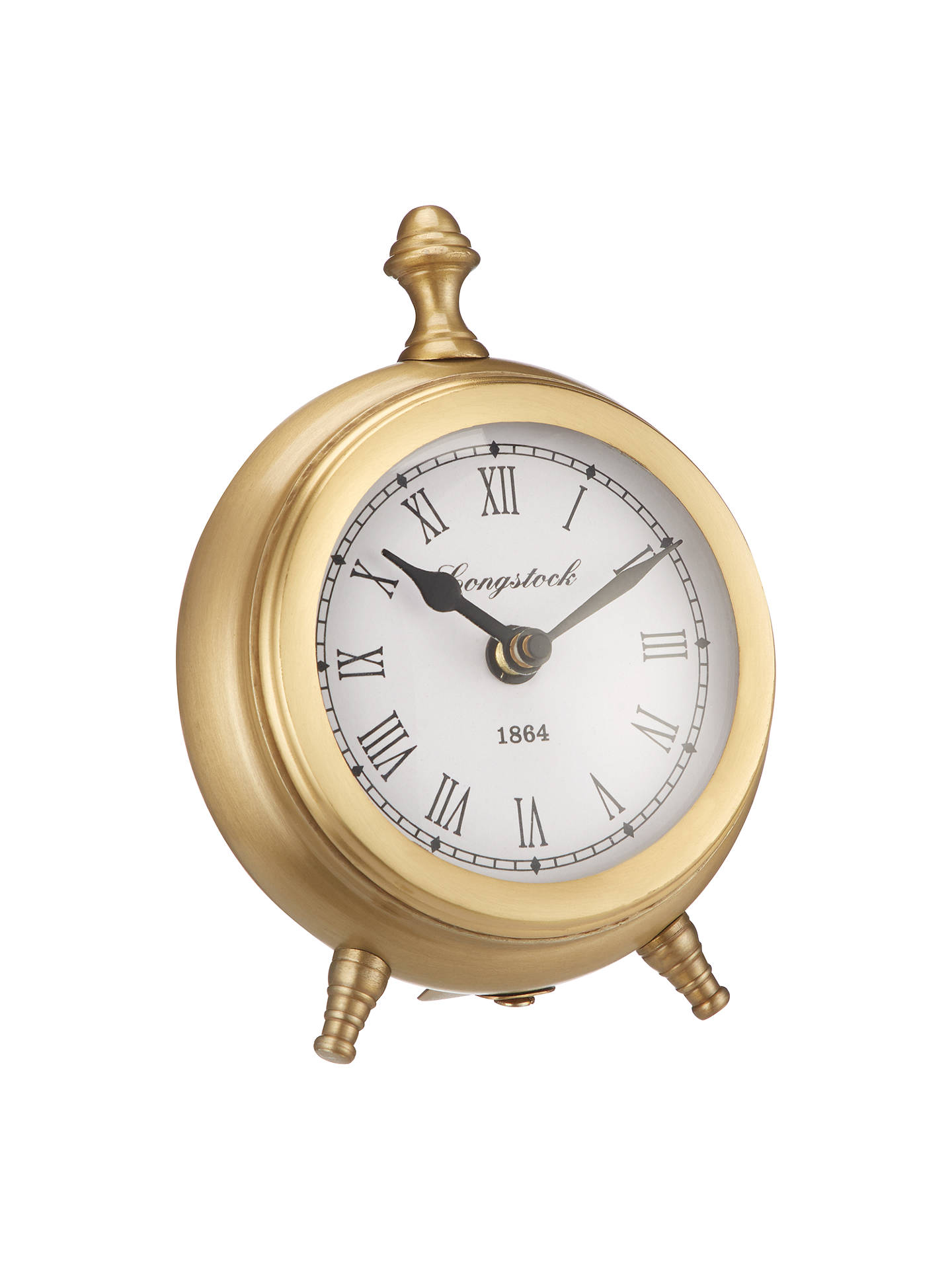 76112aa5a64 Buy John Lewis   Partners Small Round Table Clock