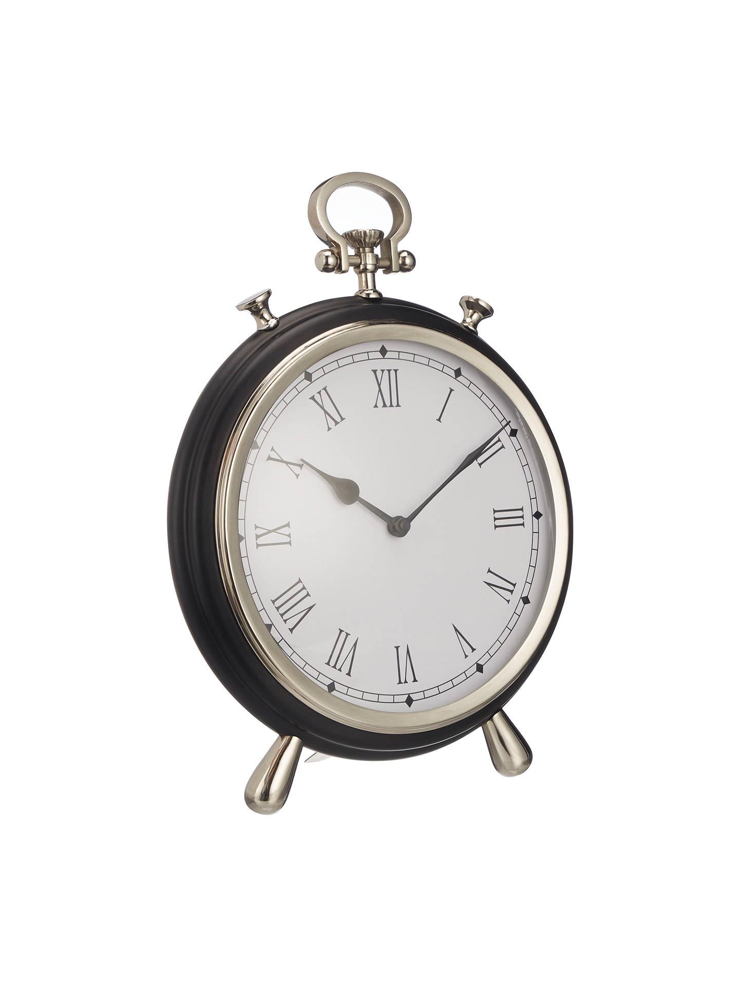 John Lewis Amp Partners Large Round James Table Clock H30cm