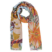Buy Powder Jungle Print Scarf, Multi Online at johnlewis.com