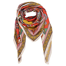 Buy Powder Satin Paisley Square Scarf, Multi Online at johnlewis.com