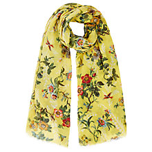 Buy Oasis Rosetti Isabelle Scarf, Ochre Online at johnlewis.com