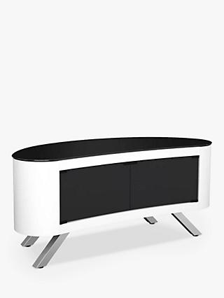 AVF Affinity Premium 1150 Bay Curved TV Stand For TVs Up To 55""