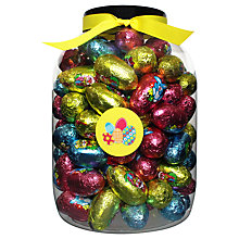 Buy Farhi Giant Tub of Milk Chocolate Eggs, 1.1kg Online at johnlewis.com