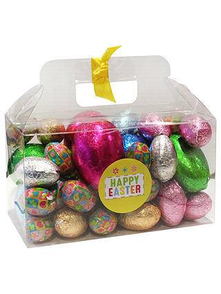 Buy Farhi Foiled Chocolate Easter Egg Assortment, 800g Online at johnlewis.com