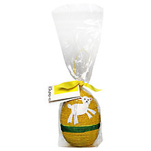 Buy Farhi String Easter Egg, Yellow, 80g Online at johnlewis.com