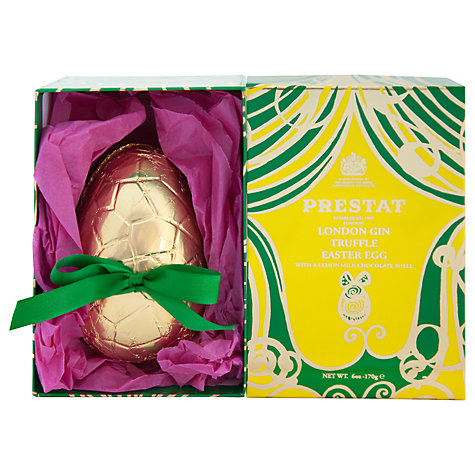 Buy prestat lemon milk chocolate easter egg with gin truffles buy prestat lemon milk chocolate easter egg with gin truffles 170g online at johnlewis negle Image collections