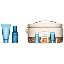 Buy Clarins SOS Hydration Mask and Hydra Essentiel Bi-Phase Serum with Gift Online at johnlewis.com