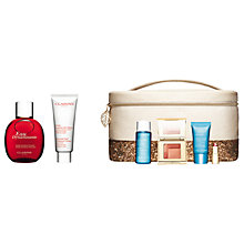 Buy Clarins Eau Dynamisante Spray and Hand & Nail Treatment Cream with Gift Online at johnlewis.com