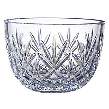 Buy Waterford Huntley Crystal Bowl, Clear Online at johnlewis.com