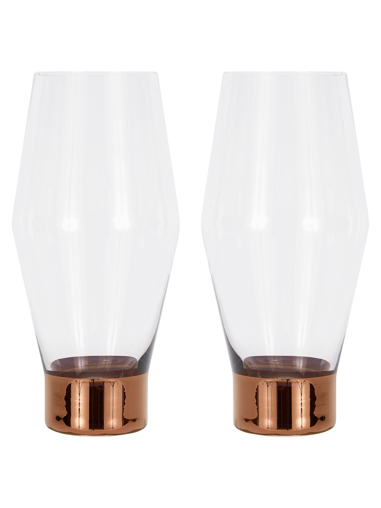BuyTom Dixon Tank Beer Glasses, Pack of 2 Online at johnlewis.com