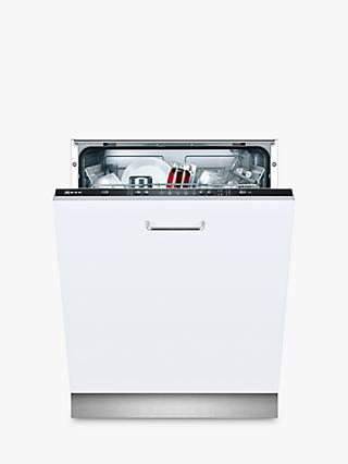Neff S511A50X1G Integrated Dishwasher, White