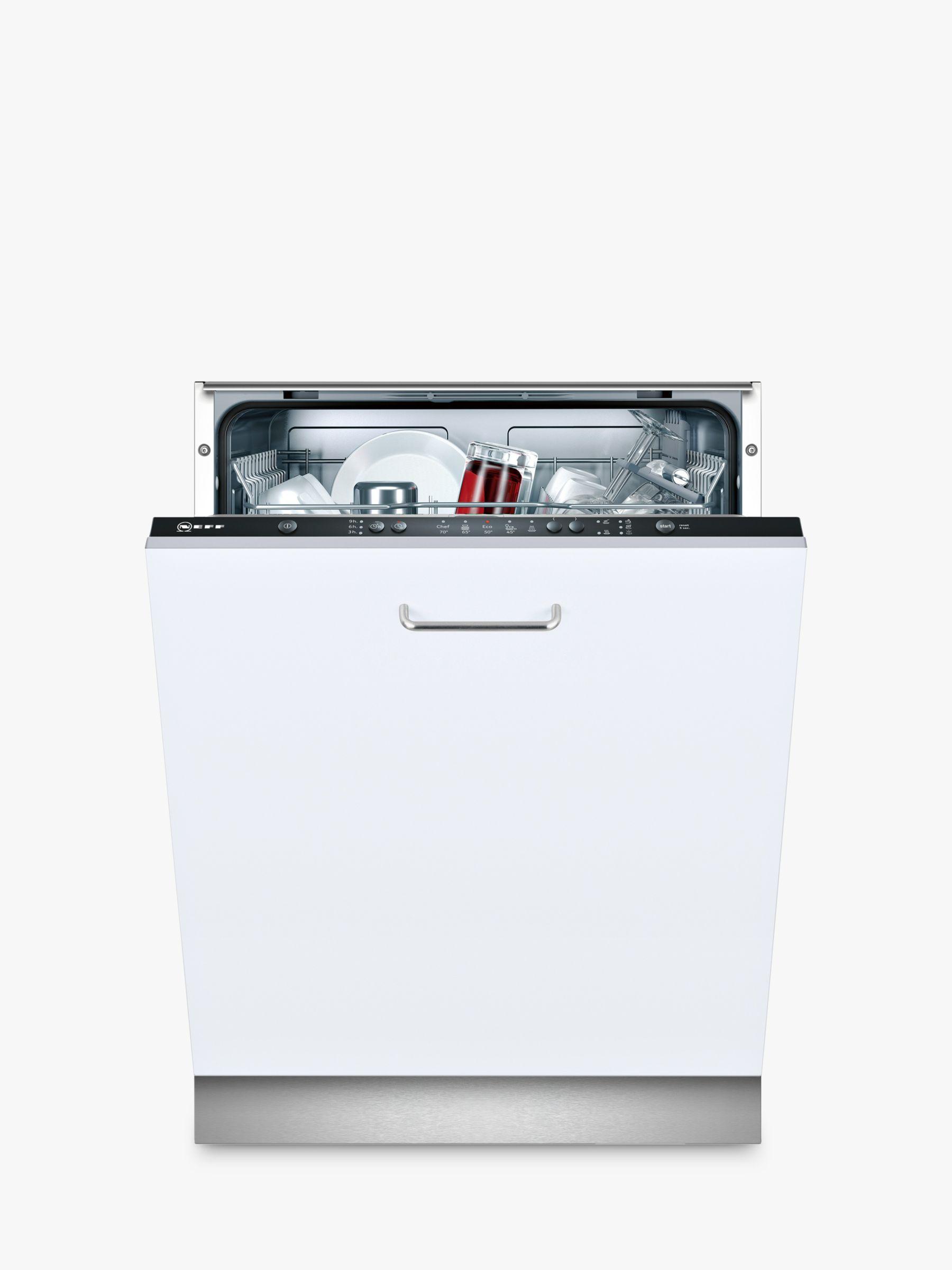 NEFF Neff S511A50X1G Integrated Dishwasher, White