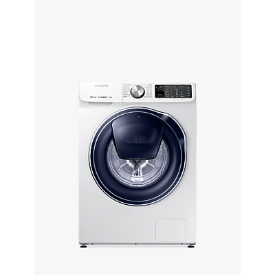 Image of Samsung QuickDrive WW80M645OPM/EU Freestanding Washing Machine, 8kg Load, A+++ Energy Rating, 1400rpm Spin, White