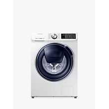 Buy Samsung QuickDrive WW80M645OPM/EU Freestanding Washing Machine, 8kg Load, A+++ Energy Rating, 1400rpm Spin, White Online at johnlewis.com