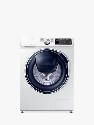 Samsung QuickDrive WW80M645OPM/EU Freestanding Washing Machine, 8kg Load, A+++ Energy Rating, 1400rpm Spin, White