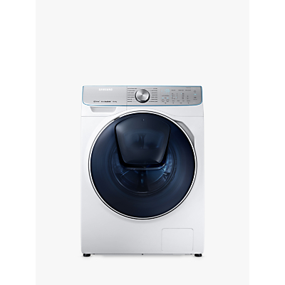 Image of Samsung WW10M86DQOA/EU Freestanding QuickDrive Washing Machine, 10kg Load, A+++ Energy Rating, 1600rpm Spin, White