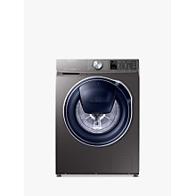 Buy Samsung QuickDrive WW90M645OPO/EU Freestanding Washing Machine, 9kg Load, A+++ Energy Rating, 1400rpm Spin, Grey/Graphite Online at johnlewis.com