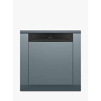 Hotpoint HBC 2B19 Integrated Dishwasher, Black
