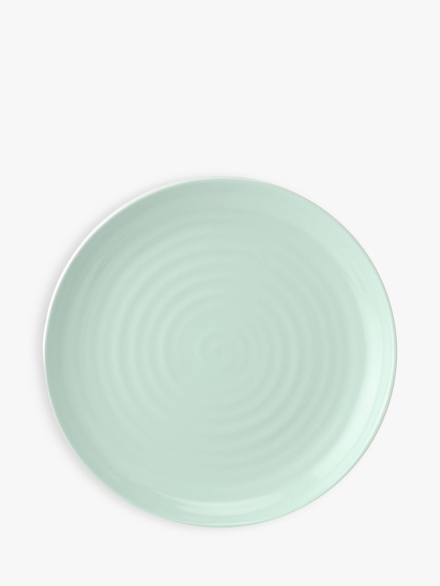 BuySophie Conran for Portmeirion Coupe Buffet Plate, Dia.28cm, Celadon Online at johnlewis.com