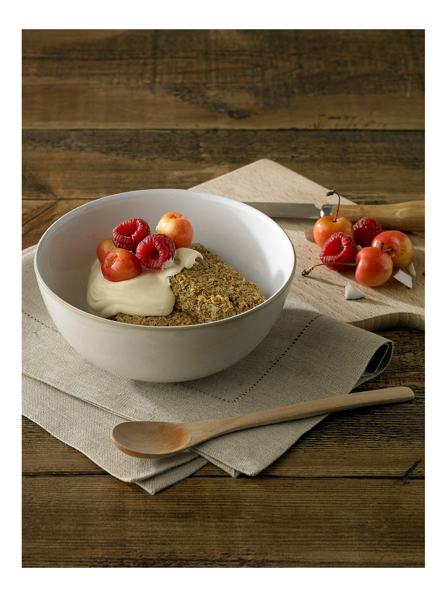 Buy Denby Canvas Dinnerware Set, 12 Pieces Online at johnlewis.com