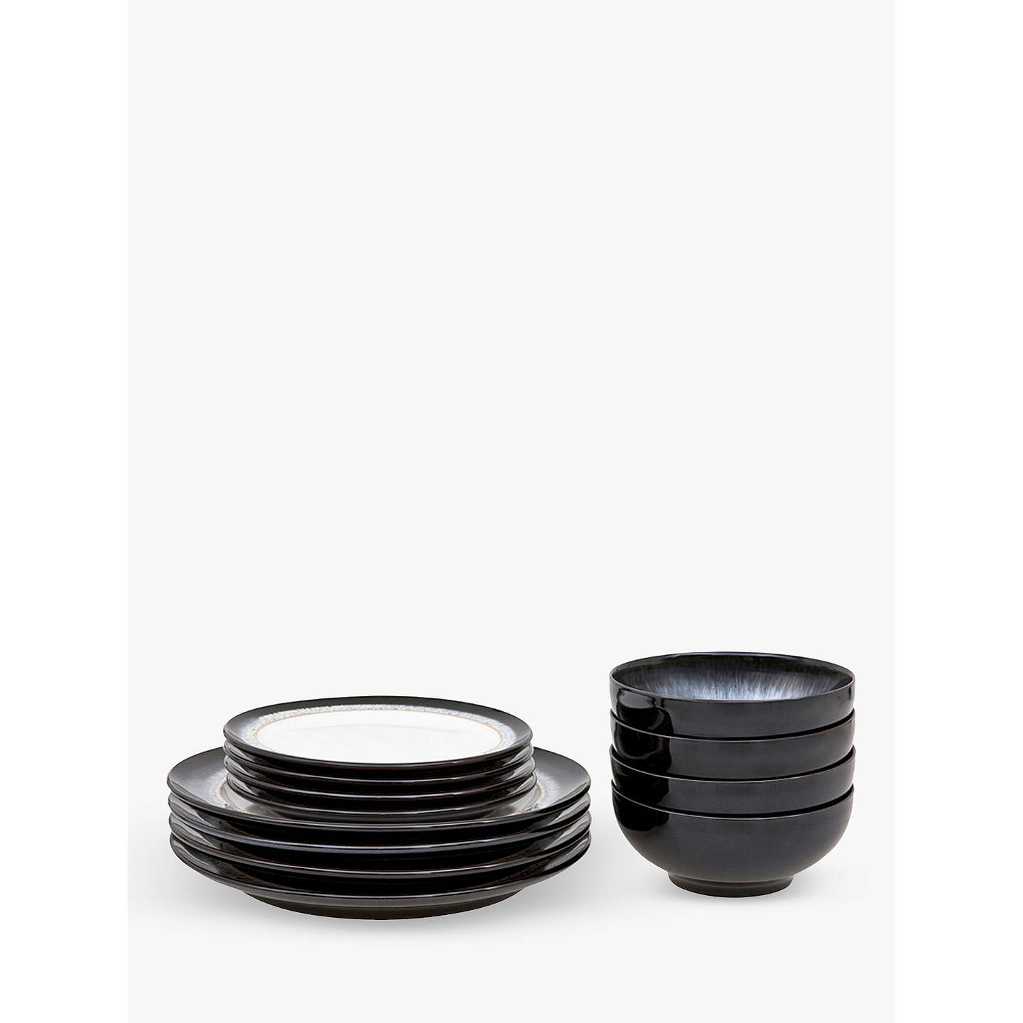 BuyDenby Halo Dinnerware Set 12 Pieces Online at johnlewis.com ...  sc 1 st  John Lewis & Denby Halo Dinnerware Set 12 Pieces at John Lewis