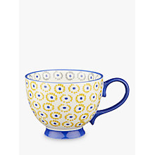 Buy John Lewis Fusion Anvi Cup, 420ml, Blue/Yellow Online at johnlewis.com