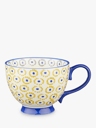 Buy John Lewis & Partners Fusion Anvi Cup, 420ml, Blue/Yellow Online at johnlewis.com