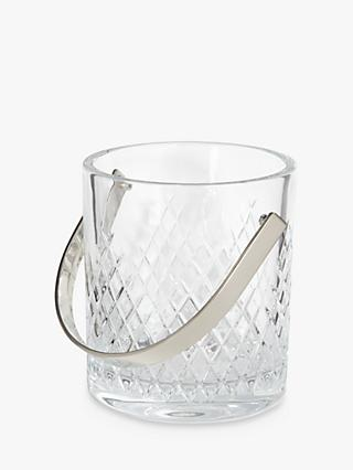 Soho Home Barwell Crystal Cut Glass Ice Bucket, 1.4L