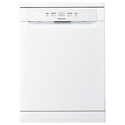 Hotpoint HFC 2B19 Freestanding Dishwasher, Silver