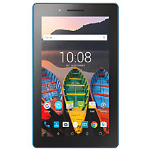"Buy Lenovo Tab 3 7 Essential Tablet, Android, Wi-Fi, 1GB RAM, 16GB, 7"", White Online at johnlewis.com"