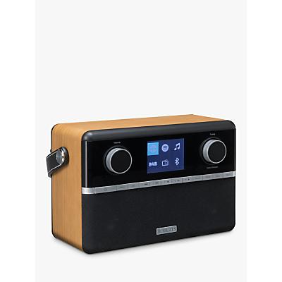 Image of ROBERTS Stream 94i DAB+/FM/Internet Smart Radio with Bluetooth, Black/Wood