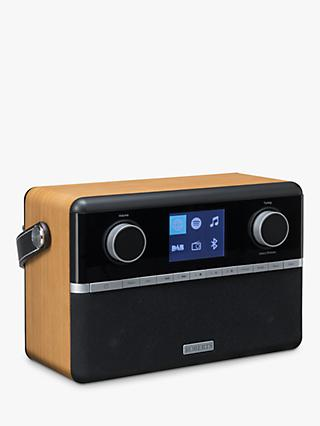 ROBERTS Stream 94i DAB+/FM/Internet Smart Radio with Bluetooth, Black/Wood