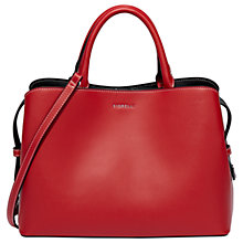 Buy Fiorelli Bethnal Triple Compartment Grab Bag,  Pillarbox Red Online at johnlewis.com
